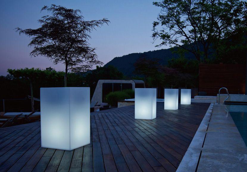 キューブハイ ライト ユーロ 3 プラスト キリア 松尾貿易商会 屋外照明 プランター 屋外