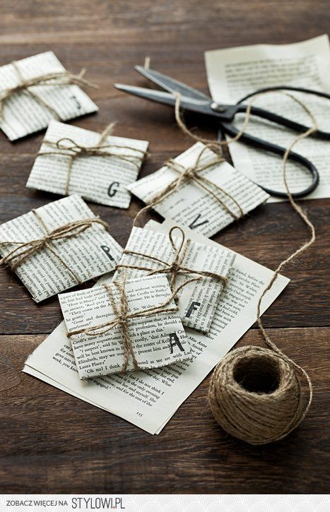 Newspaper gift wrapping - very cheap and with quirky style - I like although I'd be tempted to really do more with ribbon & bows.