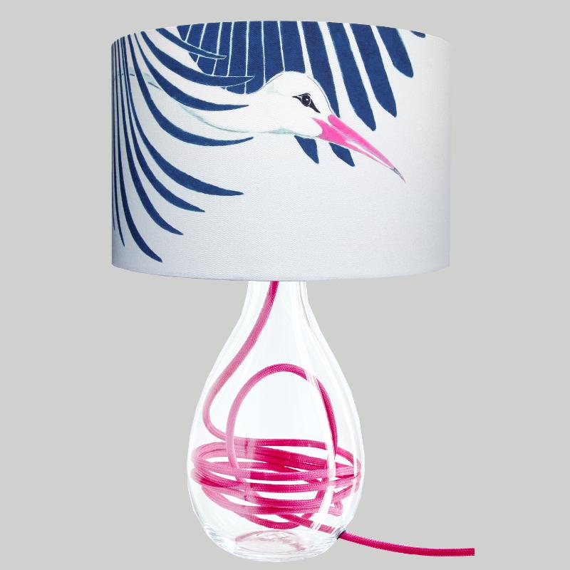 Snow Peak Unbound Lamp With Coloured Flex Lamp Sculptural Design Pop Art Colors