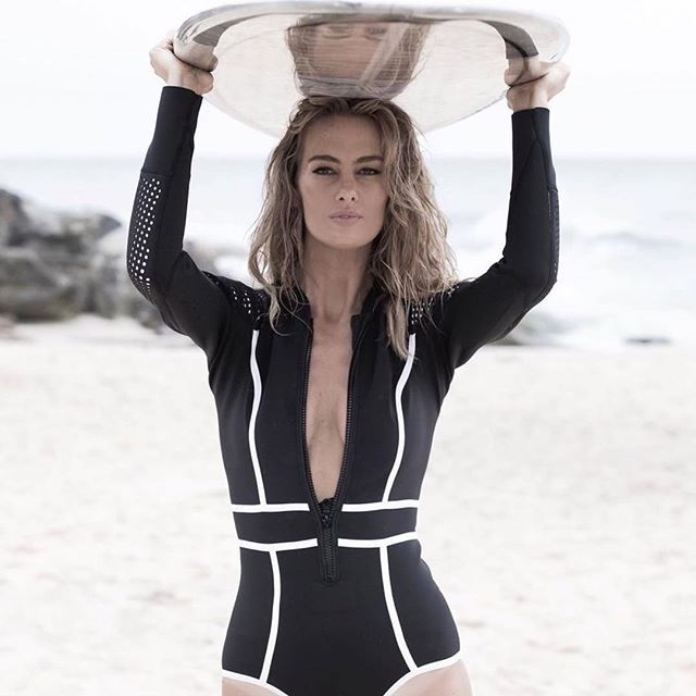 72d50307736 Waimea Bay Long Sleeve Bikini Suit | Black | Shop duskii Instagram ...