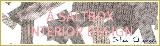 A SALTBOX  --- fun interior decorating blog