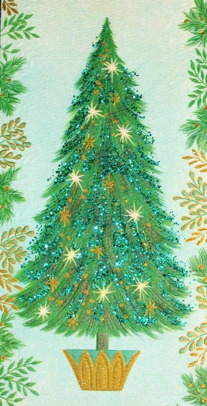 Old Christmas Post Cards — (700x1369) | Old Christmas Post Сards ...