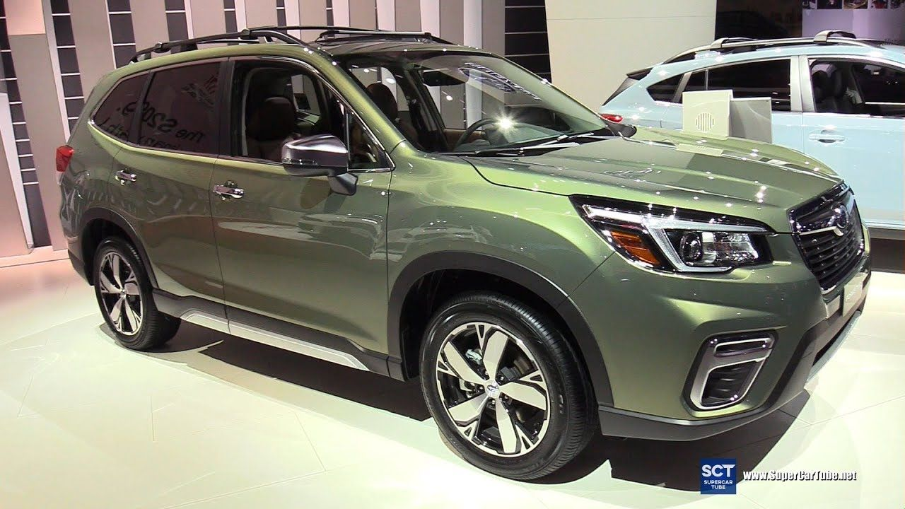 2019 Subaru Forester Touring Exterior and Interior