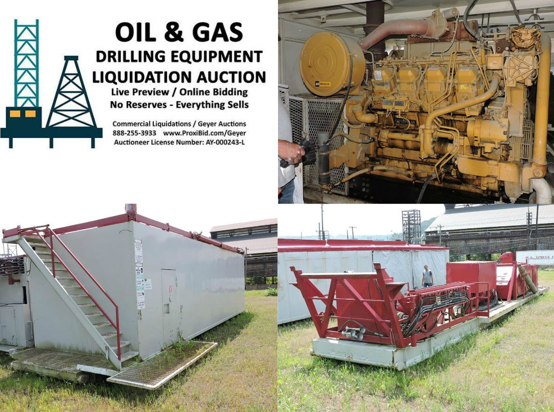 Commercial liquidationsgeyer auctions oil gas drilling