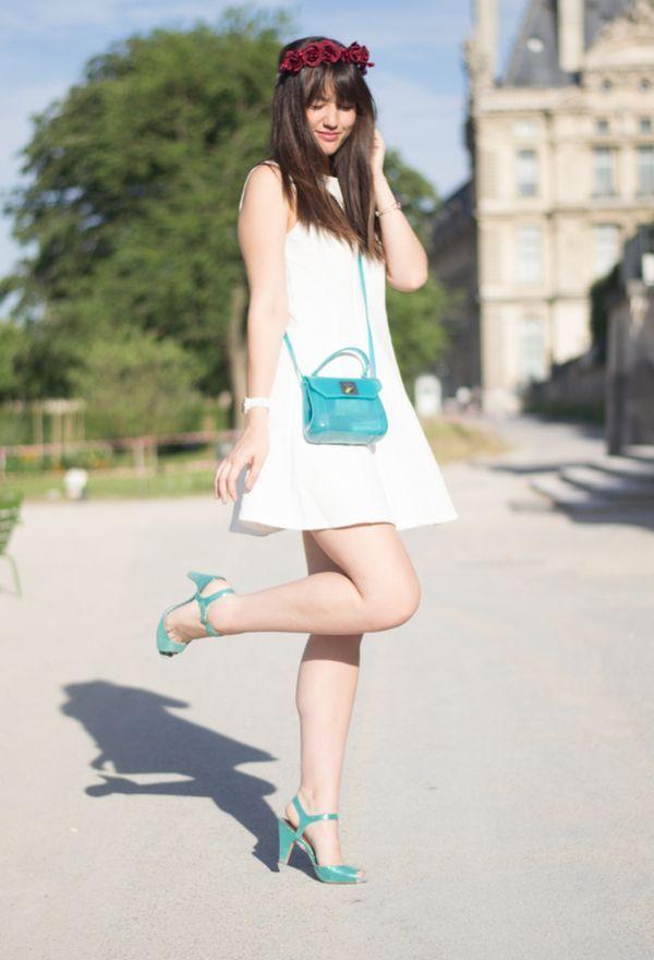 9310e77134 ¿Que zapatos usar con vestido blanco
