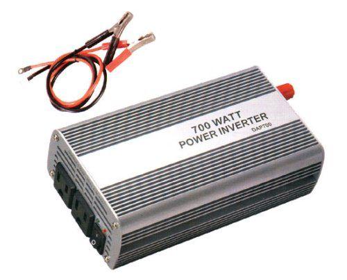 Power Inverter 700W CarAuto DC AC 110V Dualoutlet -- For more information, visit image affiliate link Amazon.com