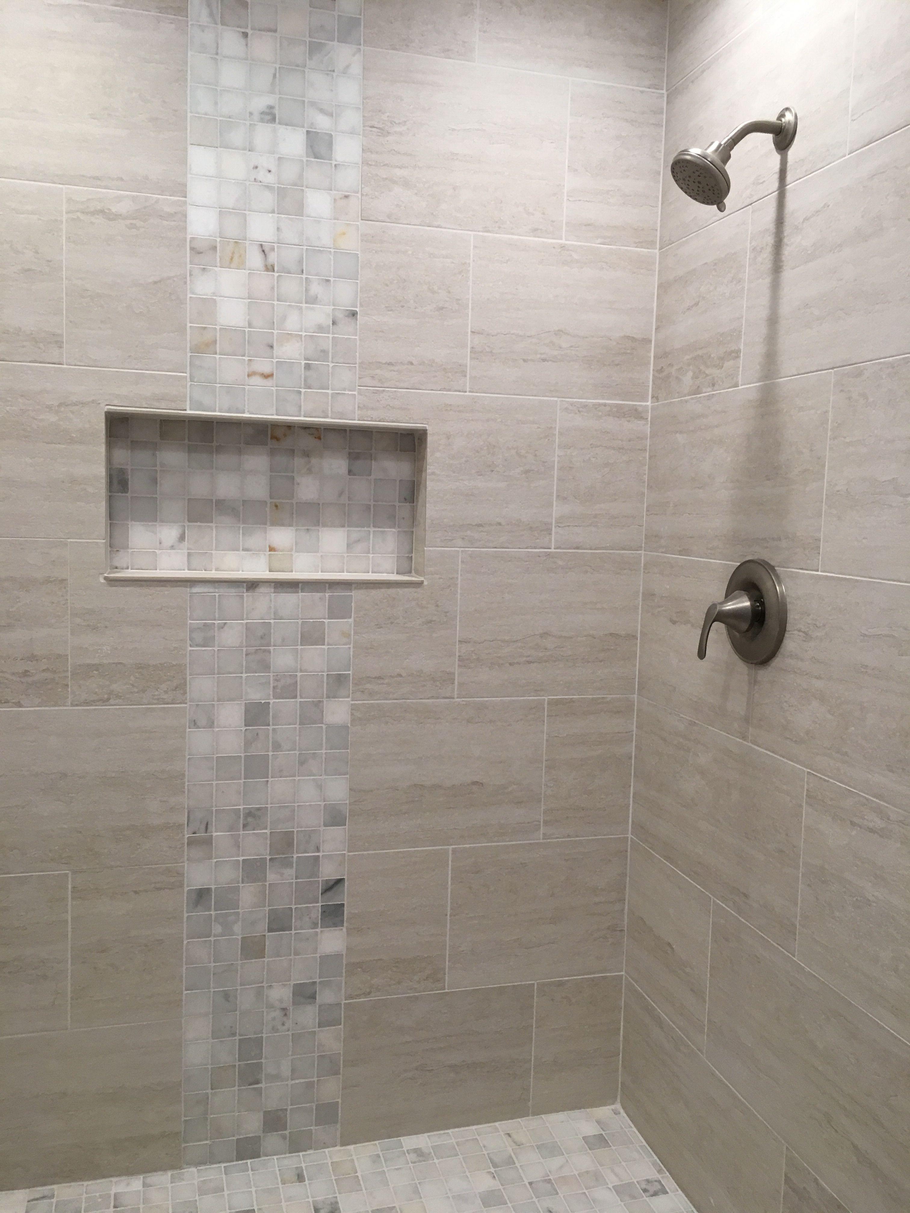 Neutral Shower Tile Bathroom Remodel Shower Bathroom Remodel Cost Large Shower Tile