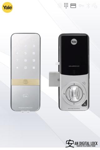 Yale Digital Door Lock Ydr 323g Digital Door Lock Digital Lock Smart Door Locks