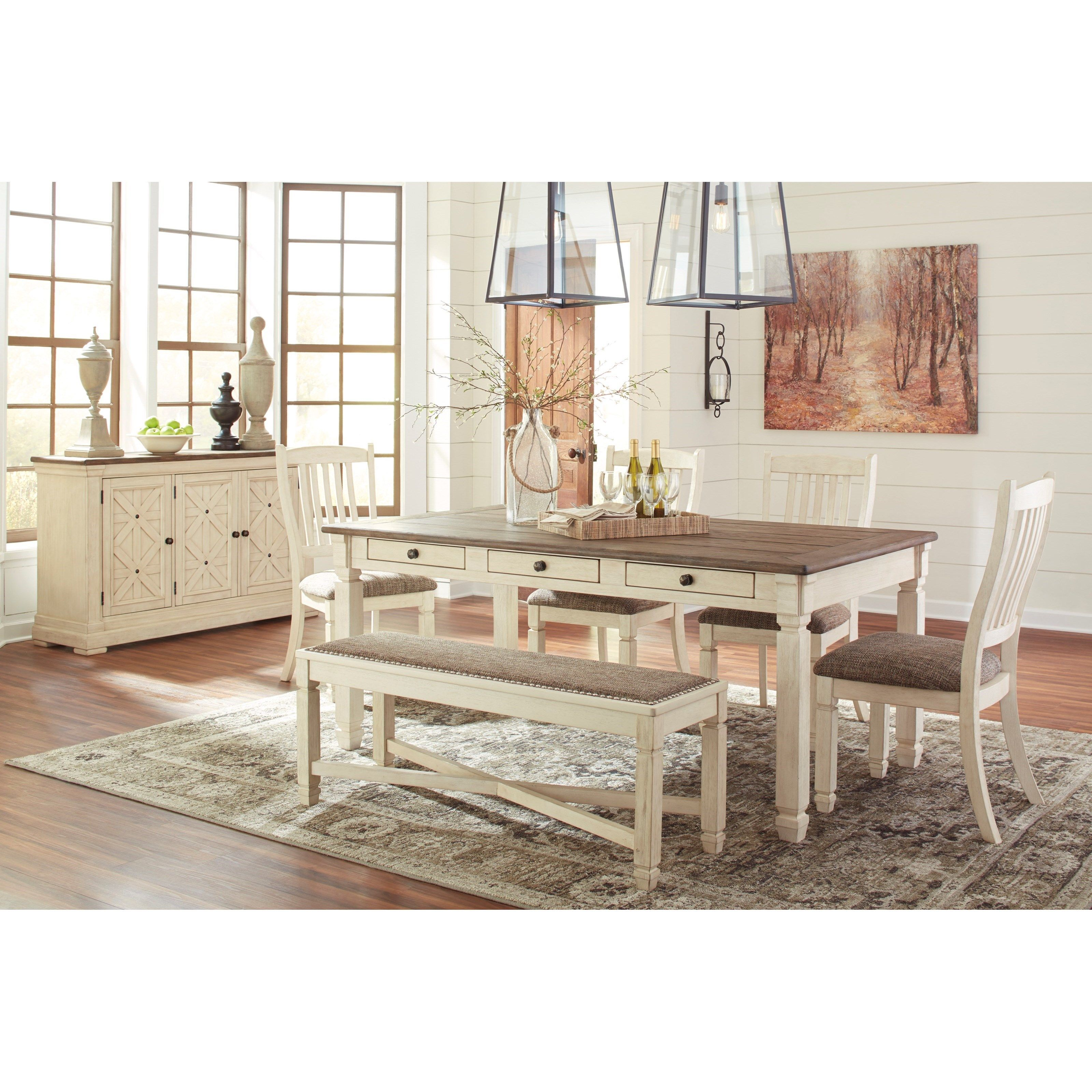 Bolanburg Formal Dining Room Group By Ashley Signature