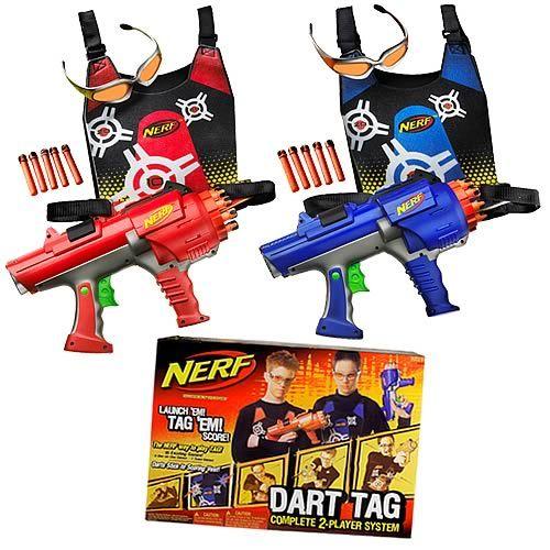 Nerf gun and air gun set