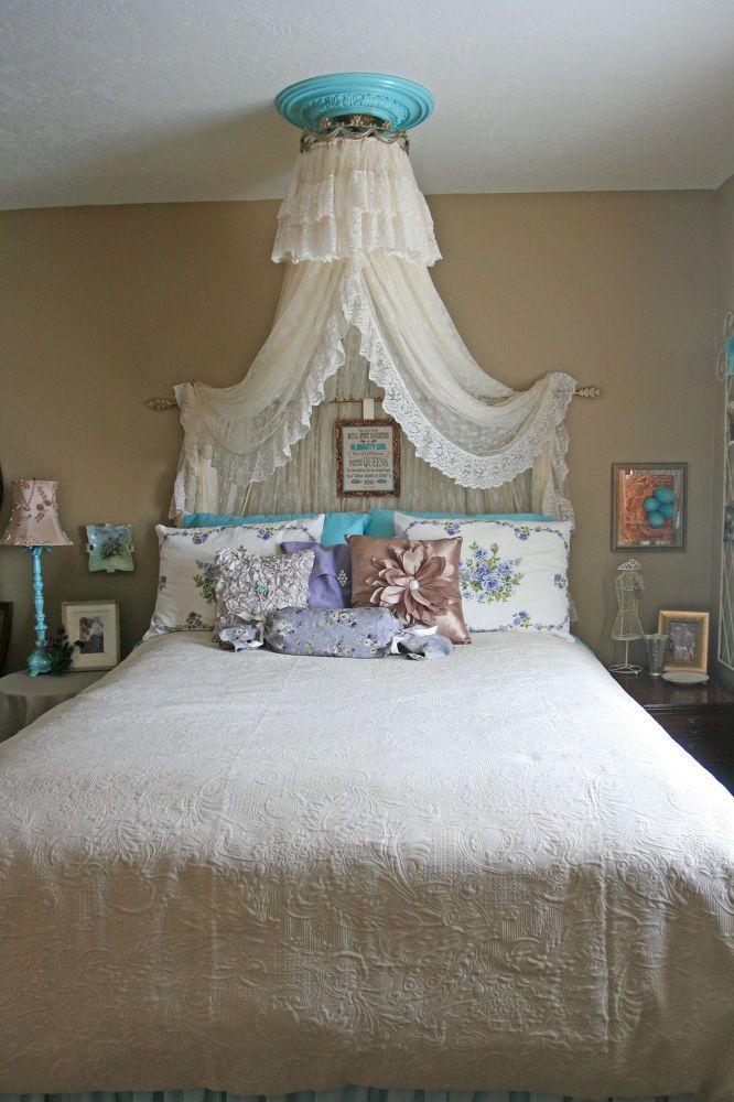 Vintage Aqua Bedroom Idea | DIY | Pinterest | Betten