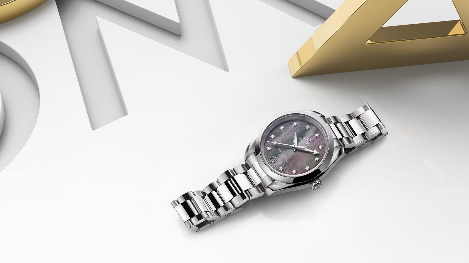 OMEGA Watches: Seamaster Aqua Terra 150M Ladies' Collection - available in three different sizes and feature refined new cases, innovative design twists and Master Chronometer movements which offer exceptional levels of precision and performance.