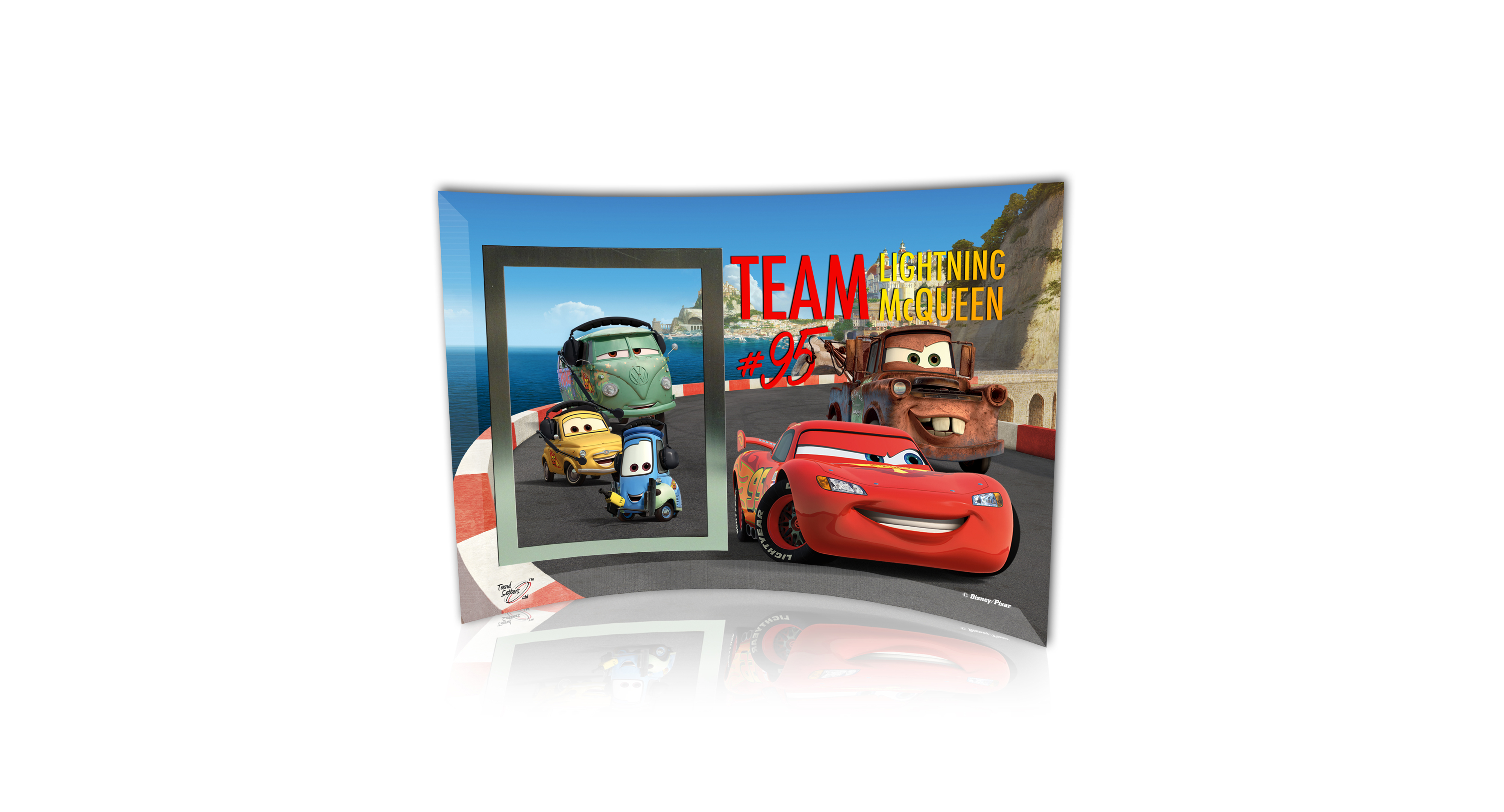 Trend setters picture frame disney cars 2 team mcqueen products trend setters picture frame disney cars 2 team mcqueen jeuxipadfo Choice Image