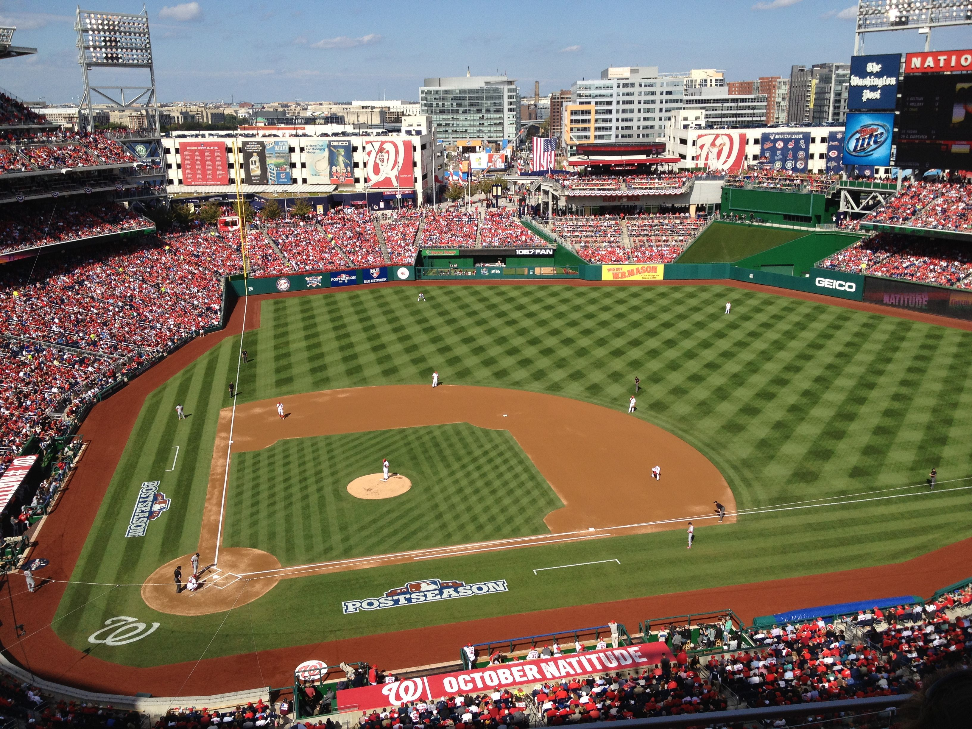 Nats are in the NLDS. One more game to see if there's more