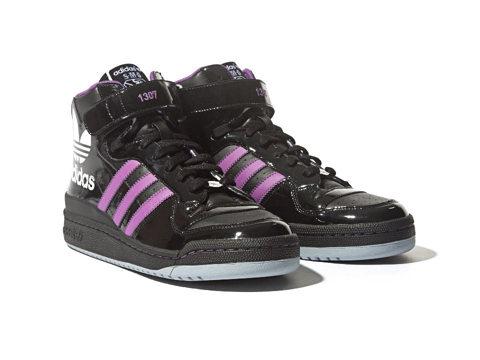 san francisco 2a0ae 4af84 ... spain smg x adidas originals forum mid black purple i want for my game  day ravens ...