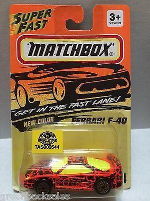 (TAS009544) - Matchbox - Ferrari F-40