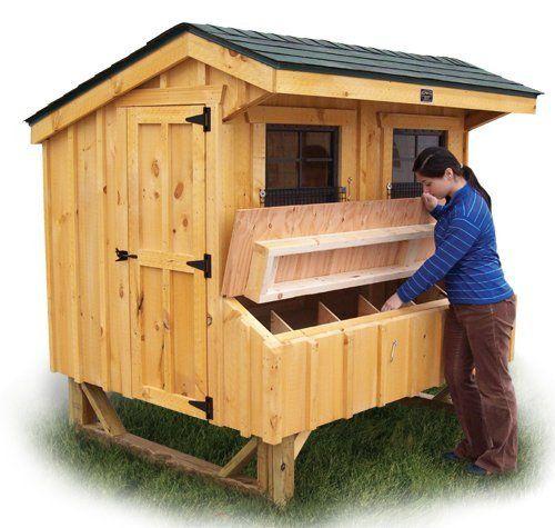 5x6 Prefab Chicken Coop KIT - Eastern US by Flagline, http ...