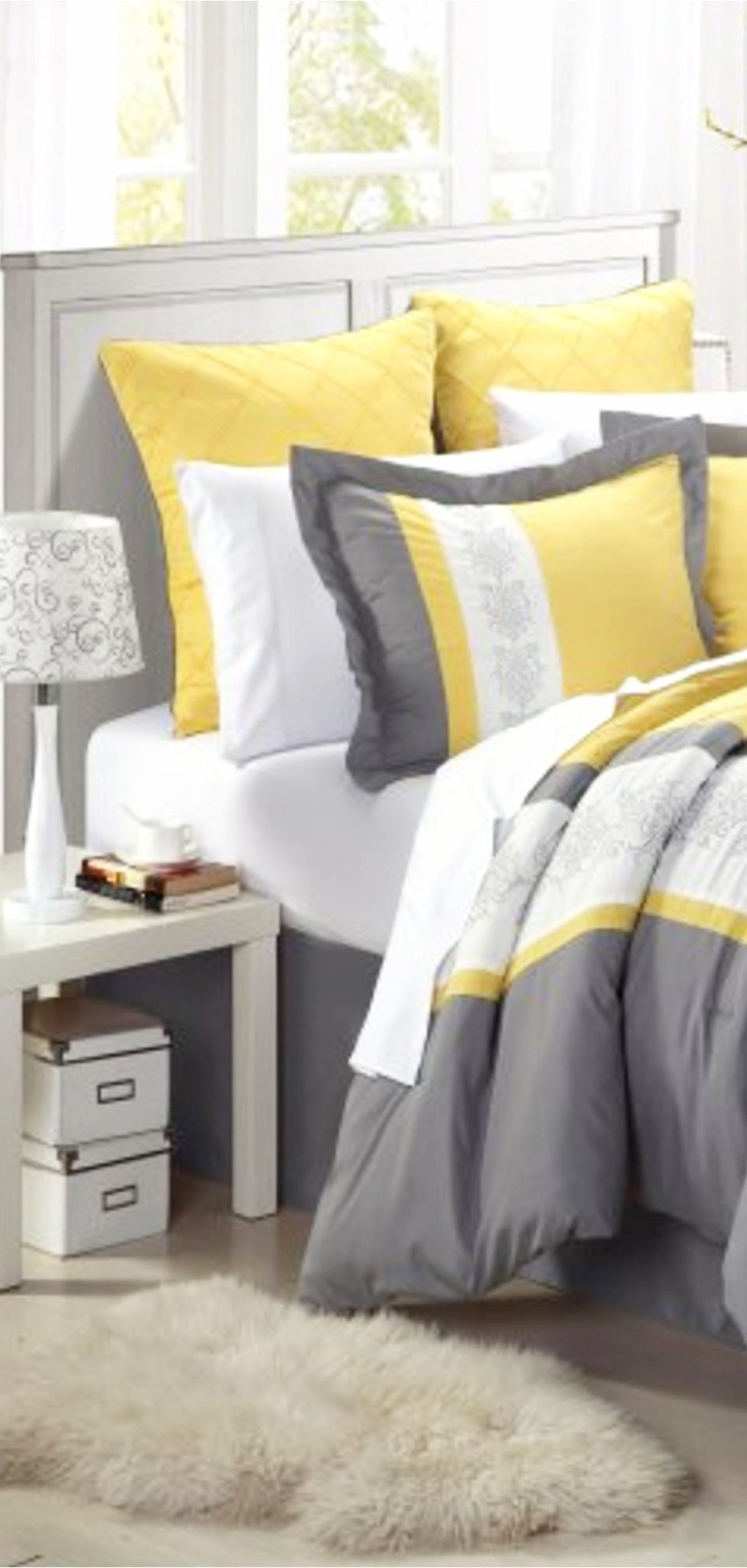 Gray And Yellow Bedroom Ideas Yellow And Grey Bedding Accent Colors Bedroom Decor Ideas Clever Diy Ideas Yellow Bedroom Yellow Bedding Yellow And Gray Bedding