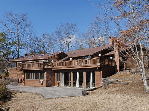 Gatlinburg cabin rentals panorama point private pool for Private cabin rentals in tennessee