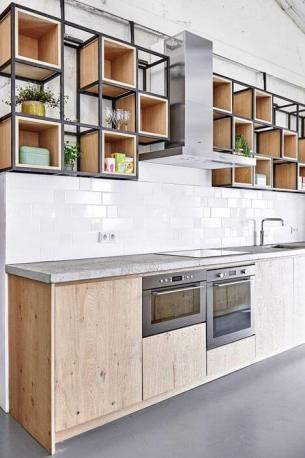 plywood can be beautiful and sophisticated | Küchenregal