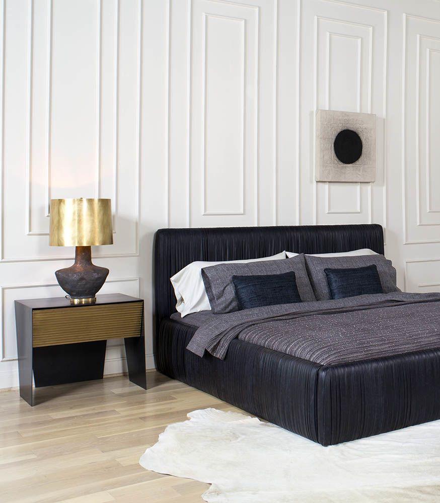 Bedroom Window Curtains Ideas High End Bedroom Furniture Interior Design Of Bedroom Simple Bedroom Design Pinterest: Kelly Wearstler, Nightstands And