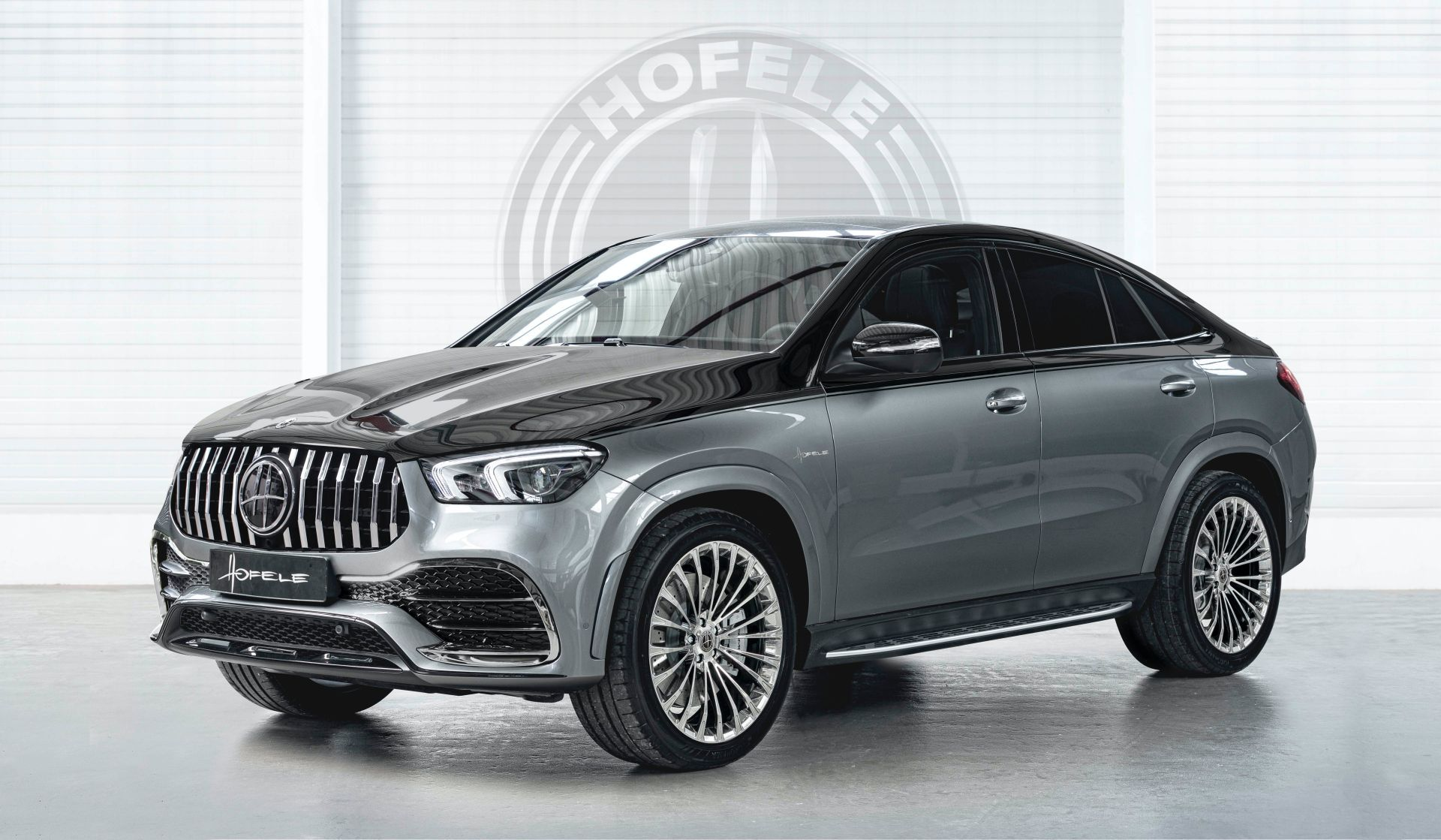 Hofele S Mercedes Gle Coupe Looks Like A Collab Between Maybach And Amg Mercedes Suv Mercedes Benz Gle Coupe Mercedes Benz Gle