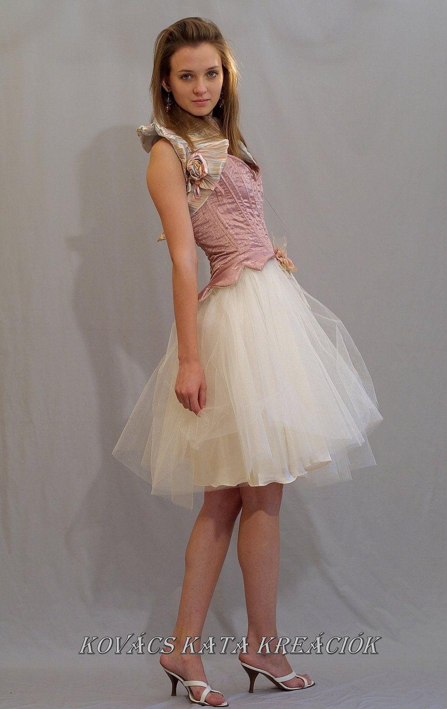 Romantic Ballerina-style Alternative Wedding Dress Fairy Princess ...