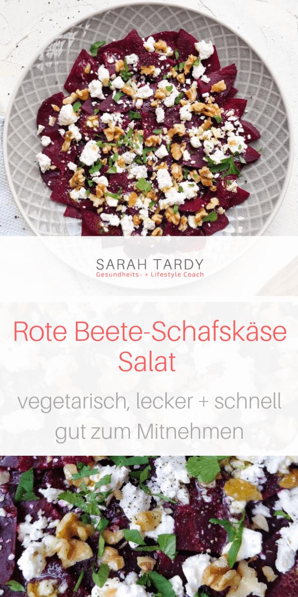 Rote Beete – Schafskäse – Salat – sarah tardy