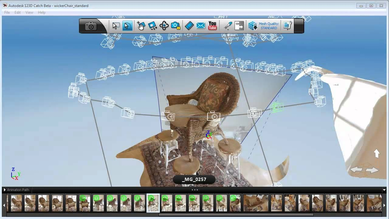 123d Catch Create Your Own 3d Model Planning Your Shoot
