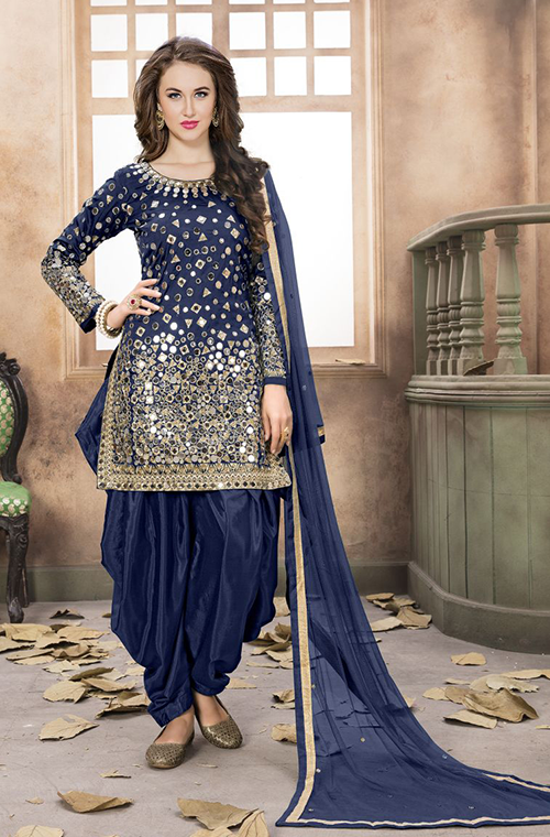1104c283ab Patiala Patiala Suit Designs, Punjabi Salwar Suits, Patiala Salwar, Indian  Designer Wear,
