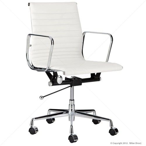 Management Office Chair Eames Reproduction White Classic 15
