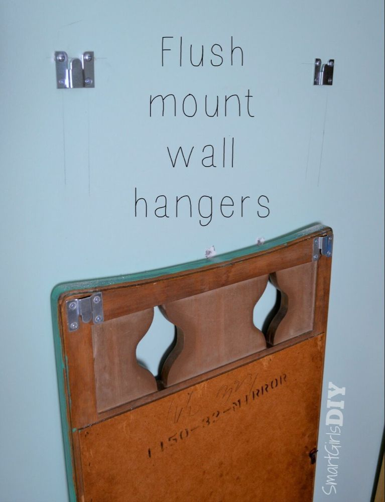 How To Hang A Heavy Mirror Hanging Heavy Mirror Wall Hanger Mirror
