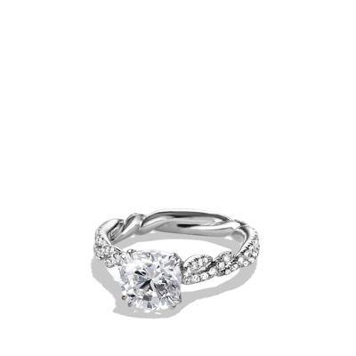 David Yurman Wisteria Engagement Ring In Platinum Wish List