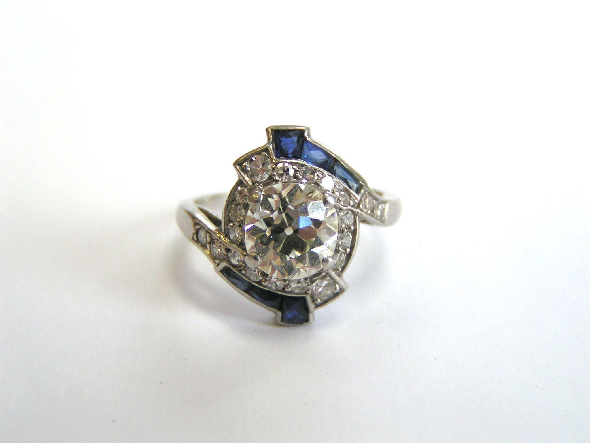 d1a978090 Pin by Lippa's Estate and Fine Jewelry on Sold Items   Engagement Rings,  Princess cut diamonds, Diamond engagement rings