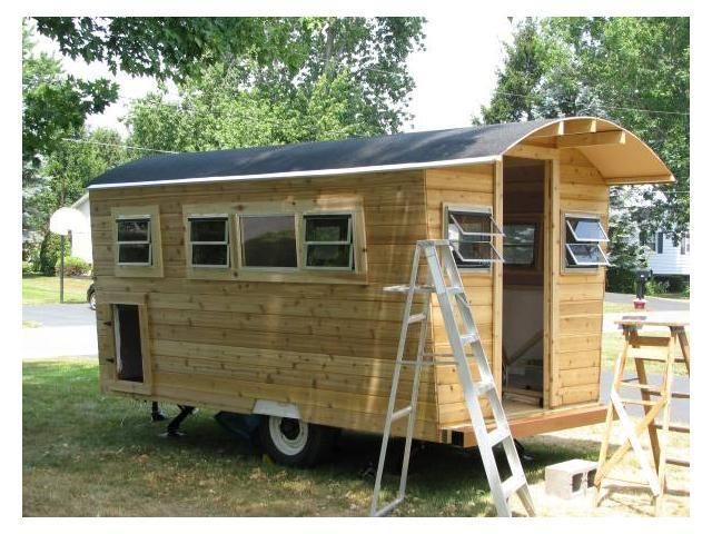 Cedar Cabin On Wheels Tiny House Listings Cedar Cabin
