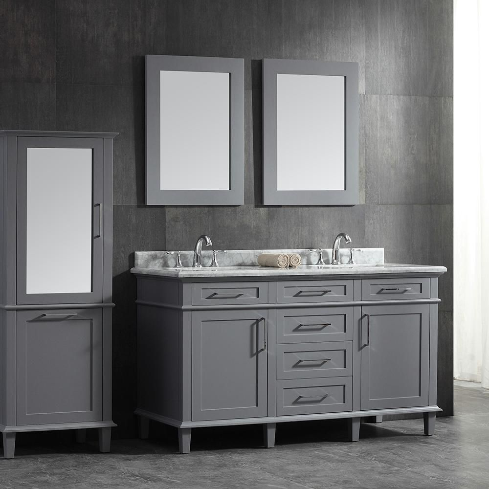 Home Depot Sonoma Vanity: Home Decorators Collection Sonoma 60 In. W X 22 In. D