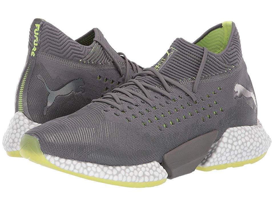 08a43a24f992 PUMA Future Rocket Men's Shoes Puma Aged Silver/Charcoal Gray/Fizzy Yellow