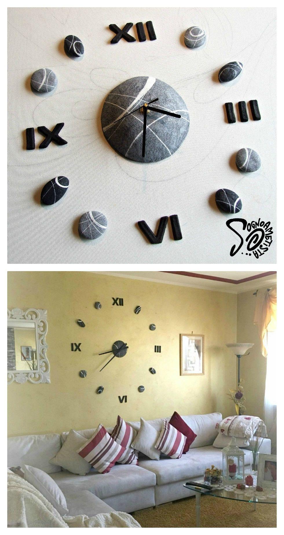 Come Decorare Una Parete orologio da parete design moderno orologio componibile