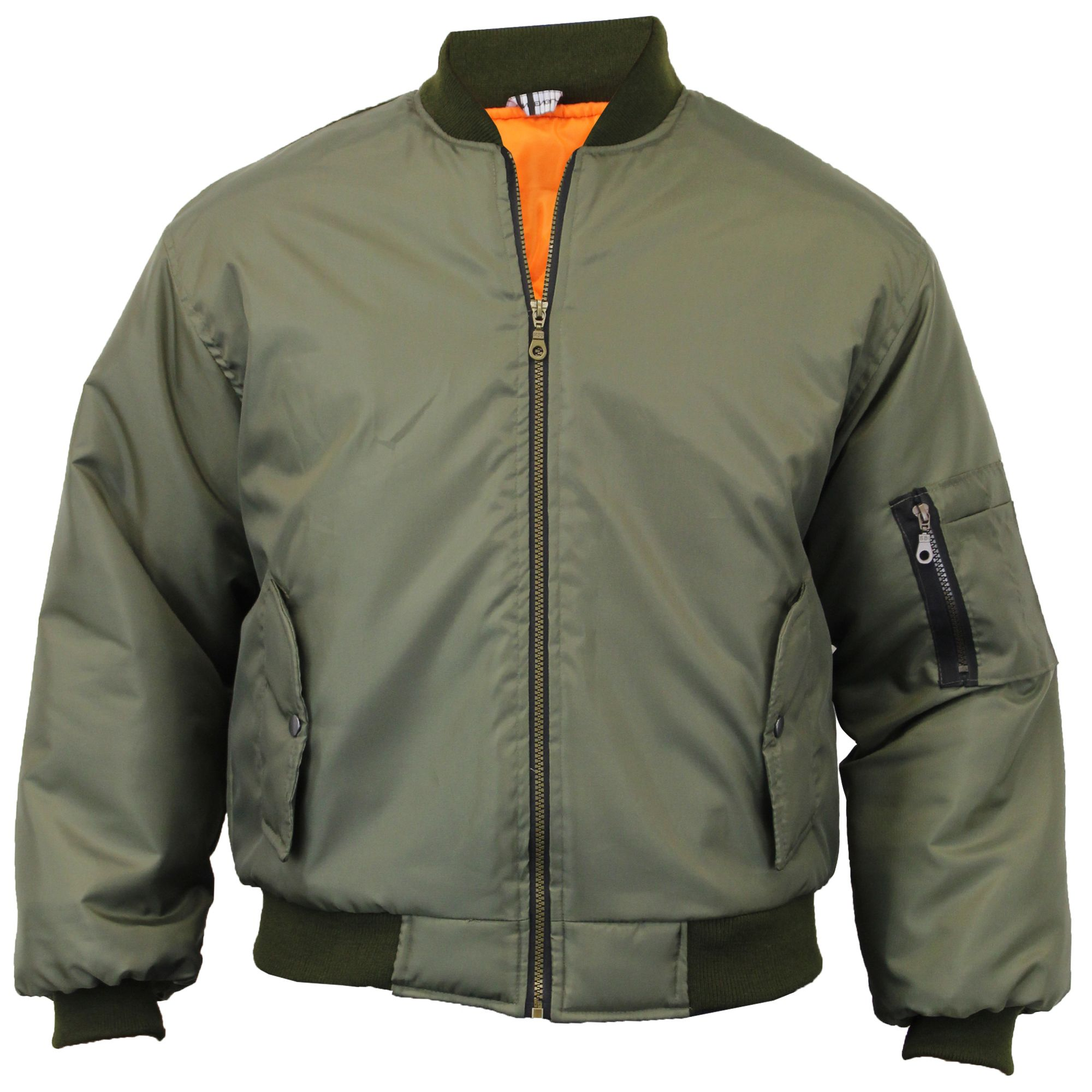 lauren quilted padded pin harrington jacket mens pilot army military security biker fly quilt bomber ralph