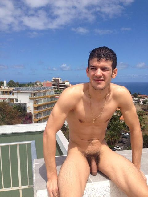 Hot naked guys with full face
