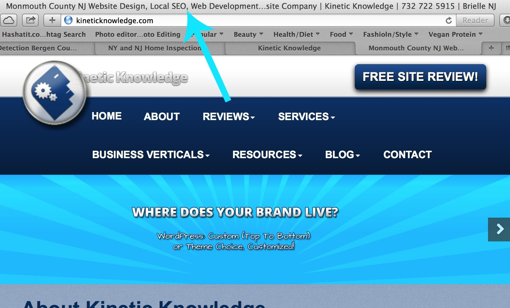 See Those Words Above The Url Bar In This Screen Shot Just Follow