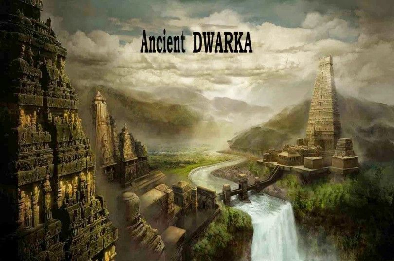 Dwarka Mythical City Found Under Water History Of India Underwater City Ancient Cities