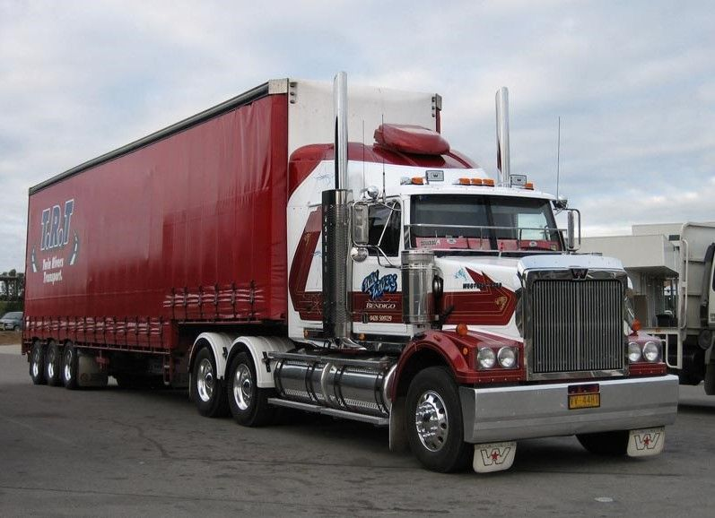 Western Star Western Star Trucks Big Rig Trucks White Truck