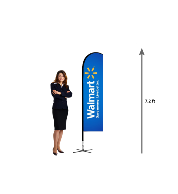 Sail Banner For Outside Trade Show Yard Flags And Banners Toronto Outdoor Flags Beach Flags Flag Banners