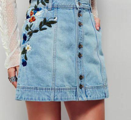 Grace Denim Skirt   Women's fashion pt 2   Fashion, Denim ...