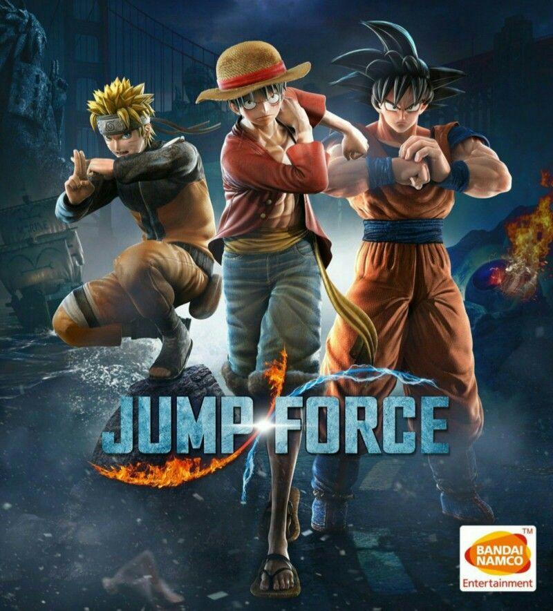 Jump Force Cover Art Bandai Namco Entertainment Bandai Keys Art