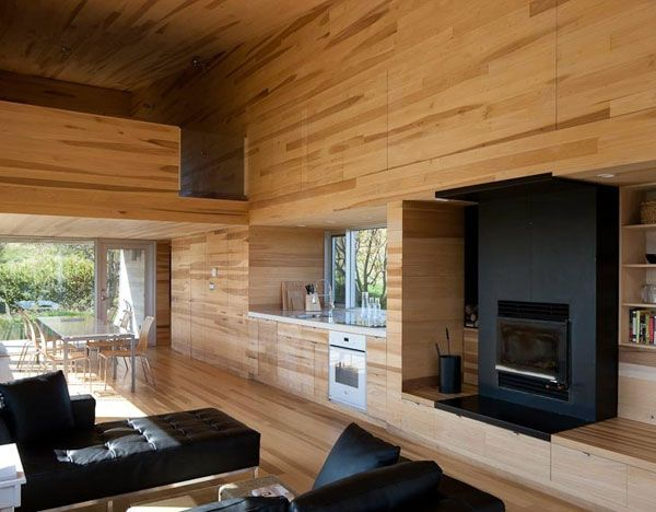 Sliding House In Canada Charms With Wooden Interiors Architect