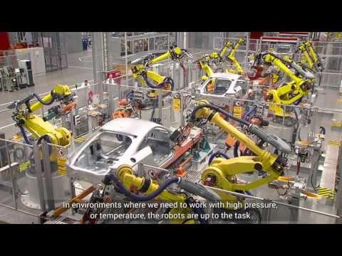 THE ROBOTICS WORLD: fanuc robots | Robotics | Industrial
