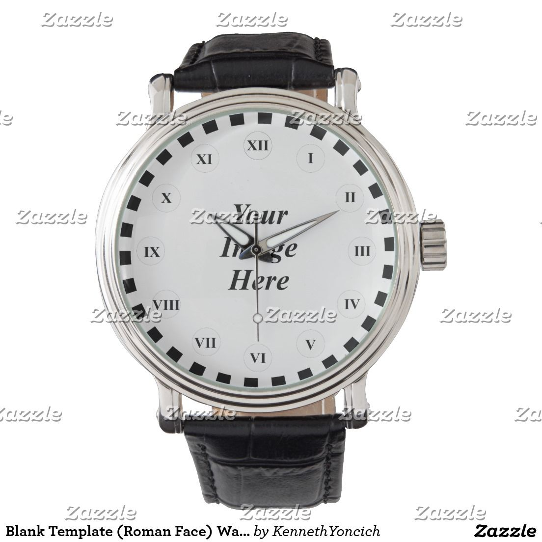 Blank Template (Roman Face) Watch | Stuff SOLD on Zazzle | Pinterest