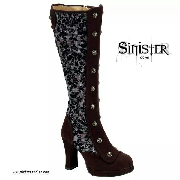 Victorian stempunk boots. ..
